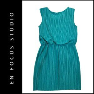 En Focus Studio Women Elastic Waist Stretch Dress